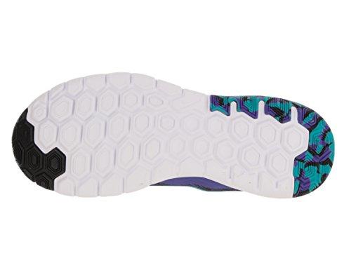 Nike Flex Experience Rn 5 Scarpa Da Corsa Nero / Persiano Viola / Bianco / Blu Gamma