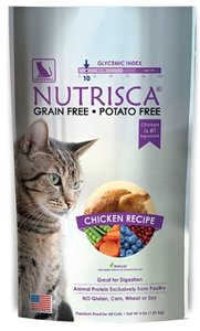 Nutrisca Premium Food For All Cats Chicken Recipe 4 Pounds (Case of 6) by Catswell