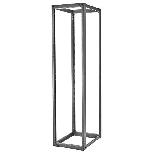 Hubbell - SF841924T - Server Frame 4-Post Rack 19in. Equip Frame 84in. H x 24in. D