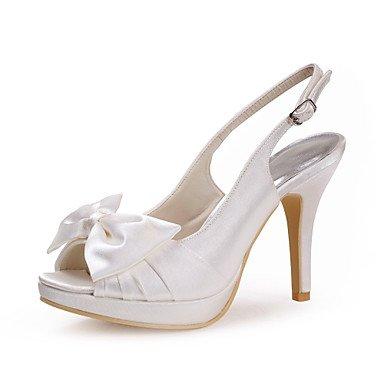 US9 Wedding Scarpe Womens Wuyulunbi Più EU40 UK7 Pee Satin Toe CN41 Stiletto Bowknot Tacchi Colori Heel Con Pompe R6qfq