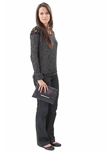 histoireDaccessoires Women's Brown PO126923GI Women's Leather histoireDaccessoires Orlando Dark Pouch gqwPqd