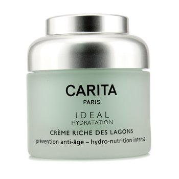 Carita - Ideal Hydratation Rich Lagoon Cream -50ml/1.69oz 2 Pack - Alba Botanica Moisturizing Sunscreen Lip Balm Spf 25 0.15 oz
