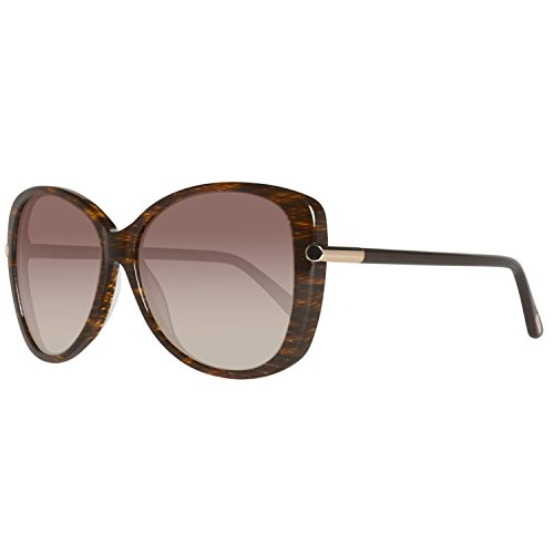 Tom Ford Linda FT0324 Sunglasses-50F Brown Striped (Brown Gradient - Ford Tom Linda