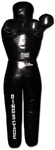 Unfilled MMA Grappling Throwing Dummy 30lbs to 140lbs, for MMA, Grappling, Jiu Jitsu, Wrestling (5'8