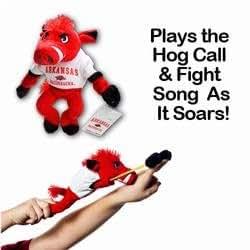 Amazon Com Arkansas Razorback Mascot Slingy Toys Amp Games
