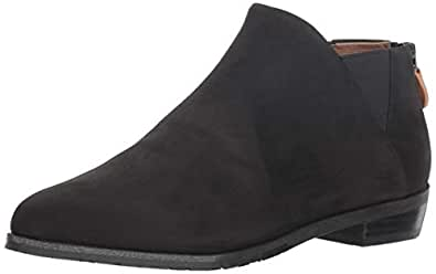 Gentle Souls by Kenneth Cole Women's Neptune Chelsea Bootie Boot, black, 10 M US