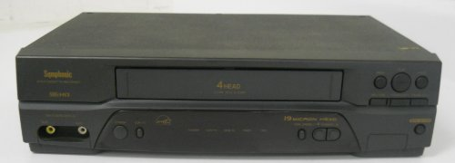 (Symphonic SL2940 Video Cassette Recorder Player VCR)
