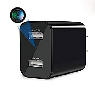 Spy Camera Wireless Hidden WiFi Camera with Remote Viewing, 2020 Newest Version 1080P HD Nanny Cam/Security Camera Indoor Video Recorder Motion Activated, Support iOS/Android, No Audio