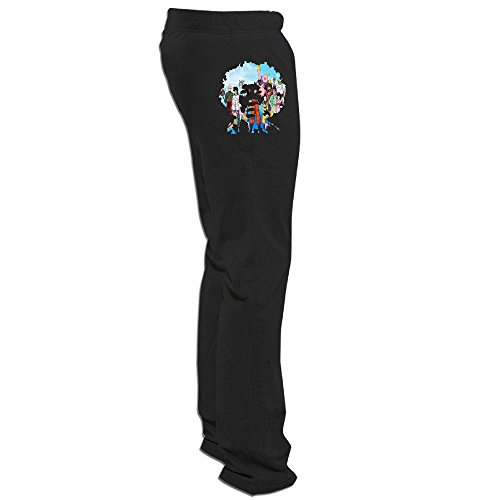 ZMILY Men's Latest Jimmy Hendrix Psychedelic-D Ball Sweatpants M - Style Knoxville Single