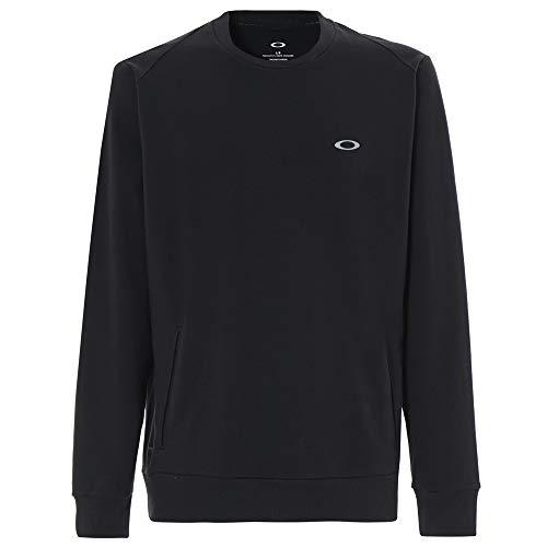 Oakley Link Crew Fleece Golf Sweater Blackout XX-Large ()