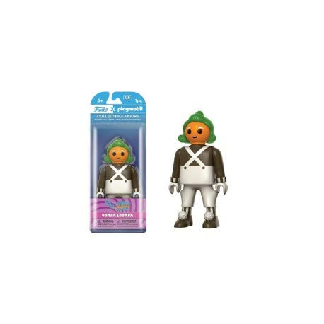 Willy Wonka & The Chocolate Factory Oompa Loompa Playmobil Vinyl Figure [Funko] (Real Willy Wonka And The Chocolate Factory)