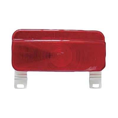 Fasteners Unlimited White 003-81L Command Electronics Surface Mount 12 Volt Taillight Base and License Bracket, Packaged: Automotive