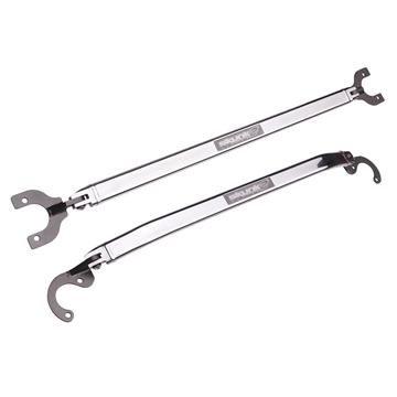 (Skunk2 522-05-0840 Polished Front Strut Bar for Honda Civic/Acura Integra)