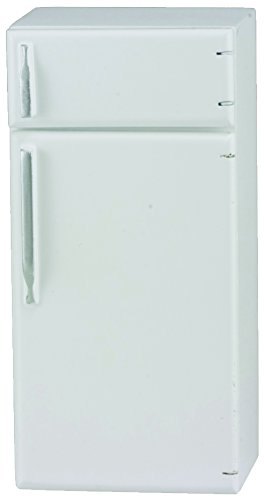 Classics by Handley Dollhouse Refrigerator, White (Refrigerator Play Wooden)
