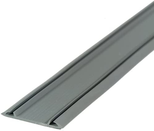 1-7//8 W x 1//8 D x M-D Building Products 13466 M-D Replacement Threshold Insert Seal Gray 36 in L X 2 in W Vinyl