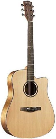 ギター 初心者入門 ギター アコースティックギターソリッドウッドベニヤギターローズウッド指板ナチュラル 小学生 大人用 ギター初級 (Color : Natural, Size : 41 inches)