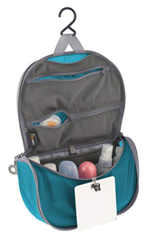 Sea to Summit Travelling Light Hanging Toiletry Bag (Small/Pacific Blue)