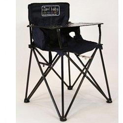 ポータブル旅行高椅子 0009243157793 B00JDTCUX4 ネイビー ネイビー