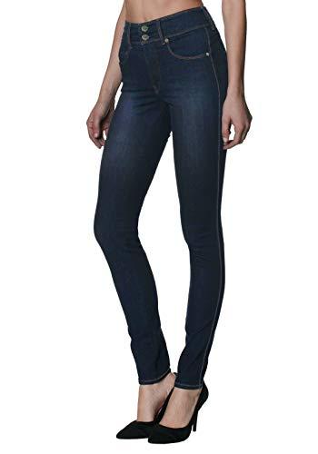 Women's Butt Lift V2 Super Comfy Stretch Denim Jeans P43635SK Tinted Blue 7 (Lift Denim Butt)