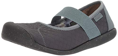(KEEN Women's Sienna MJ Quilted Mary Jane Flat, Stormy Weather, 11 M US)