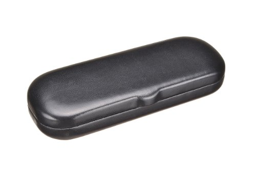 London Eyeglasses Hard Case for Small Frames in Black, Brown, Burgundy, and Navy