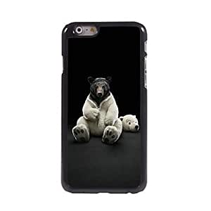 SOL Dress Up Bear Pattern Aluminum Hard Case for iPhone 6