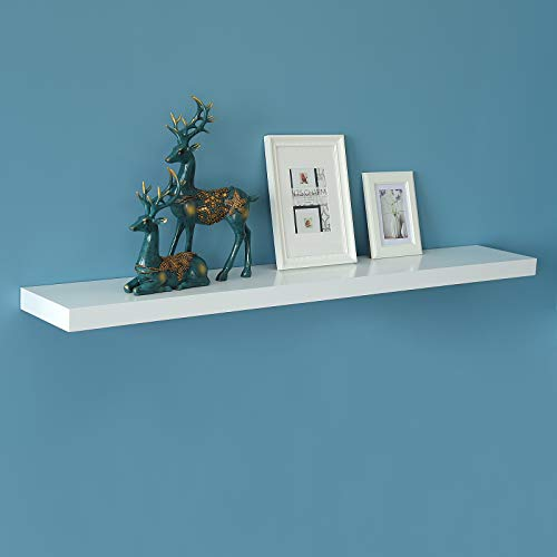 WELLAND New Chicago Floating Shelves, White Floating Wall Sh
