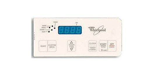 Whirlpool 6610463 Control, Range, White - Whirlpool White Electric Range
