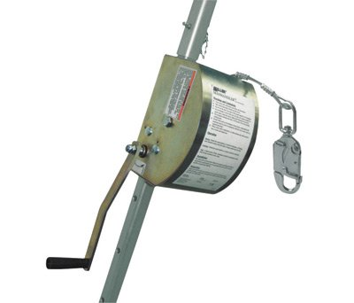 "ManHandler® Personnel-Rated Hoist/Winch With 3/16"" Galvanized Steel Cable"