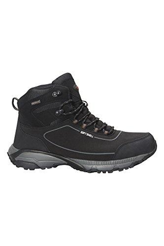 Mensola Da Montare In Montagna Prospect Mens Softshell Boots-scarpe Da Passeggio Estive Grigio Scuro