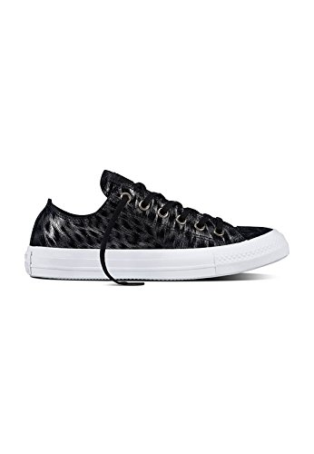 Converse All Star Ox Trainers Black Black / White sLaK1SI