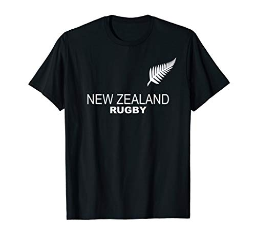 New Zealand Rugby Jersey Tshirt Tee