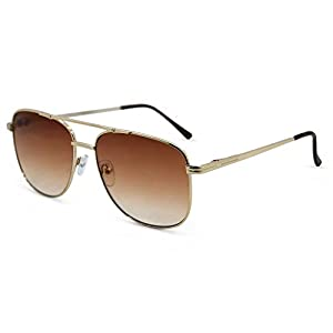 In Style Eyes Just Chillin' Aviator Reading Sunglasses Gold 1.75