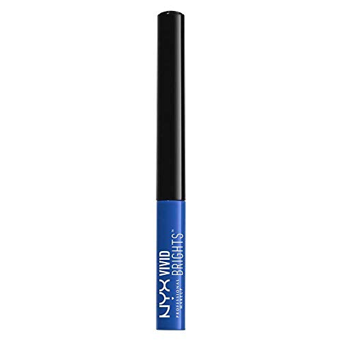 NYX PROFESSIONAL MAKEUP Vivid Brights Liner, Sapphire, 0.068 Fluid Ounce