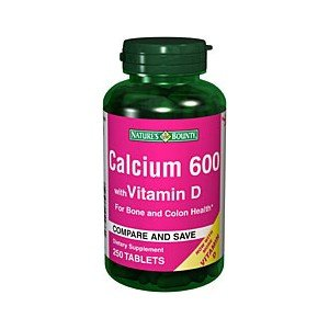 Natures Bounty Coral Calcium (NATURES BOUNTY CALCIUM 600MG + D 4233 250TB by NATURE'S BOUNTY ***)