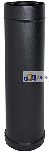 Chimenea Flue Tubo Negro Coax Elemento D. 100/150 Longitud Correcta 1 MT 316