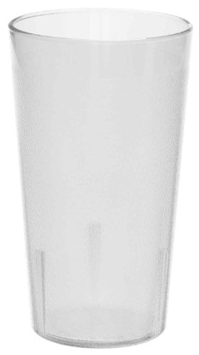 Colorware Clear Plastic Tumbler (Cambro 1600PSW152 Colorware Tumbler, 16.4-Ounce, Set of 6)