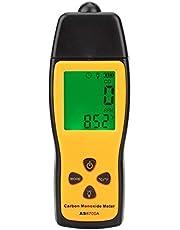 Carbon Monoxide Meter,Smart Sensor Handheld Carbon Monoxide Meter,LCD Digital High Display Precision CO Gas Tester,Monitor Detector Gauge,for Petroleum,Chemical,Coal,Metallurgy etc.