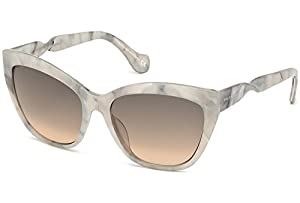 Sunglasses Balenciaga BA 52 BA0052 24B white/other / gradient smoke
