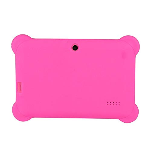 E.I.H. Tablet PC 7 inch Children Tablet Q88 512MB+4GB A33 Quad Core 0.3MP Dual Camera 1024600 WiFi Android 4.4 Tablet PC with Silicone Cover by E.I.H. (Image #2)