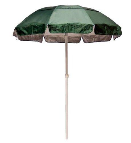 Forest Green Top Solar UPF 50+ Lifeguard Umbrella & Bag