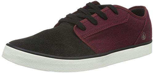 Volcom - Grimm 2 Shoe, Scarpe da Skateboard Uomo Rosso (Rot (Deep Red))