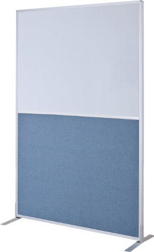 Panel Markerboard - Best-Rite 72 x 48 Inch Standard Modular Divider Panel, Markerboard and Blue Fabric, (66224)