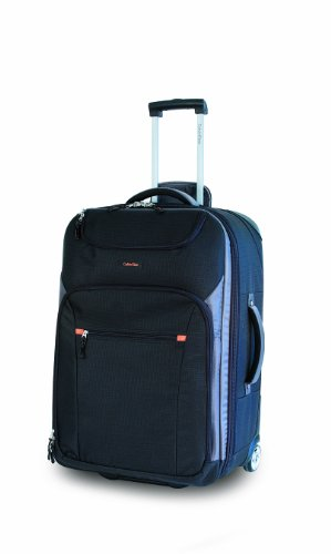 Calvin Klein Luggage Greenwich Carry On, Noir, 21 inch, Bags Central