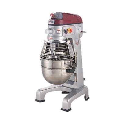 - MVP Group Stainless Steel Electric Floor Model 30 Quart Axis Planetary Mixer