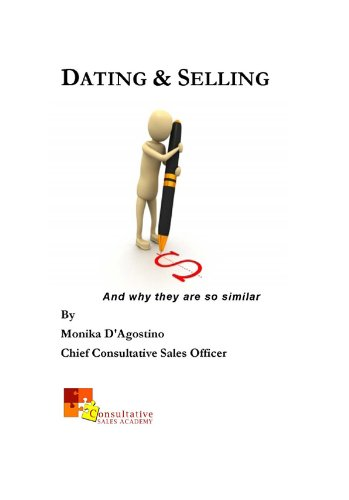 The similarities between Dating & Selling are examined in an anecdotal and fun way here.Monika's mission is to bring the least common of the senses - Common Sense - back into sales.The author's passion for sales & in-depth look at how Selling...