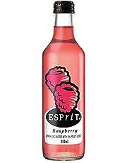 Esprit Raspberry Sparkling Water with 5% Fruit Juice, 24 x 2180 g, Raspberry