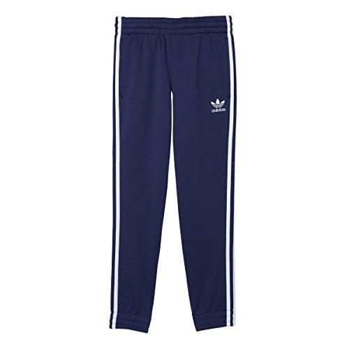 adidas Originals Boys' Superstar Track Pants, Midnight Indigo Fitted, X-Large