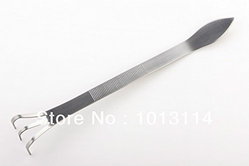 Roto - Bonsai Tools Bonsai Tweezers Stainless Steel Root Rake and Spatula Robust Very Firm and Durable Made By Tian Bonsai