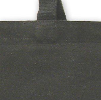 ECOBAGS Organic Canvas Tote Bag, Black